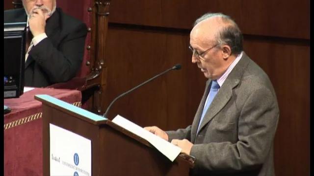 Acte d'homenatge al Dr. Miquel Siguan i Soler