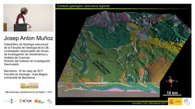 Contexto geológico de la Planta de Desarrollo Tecnológico de Hontomín