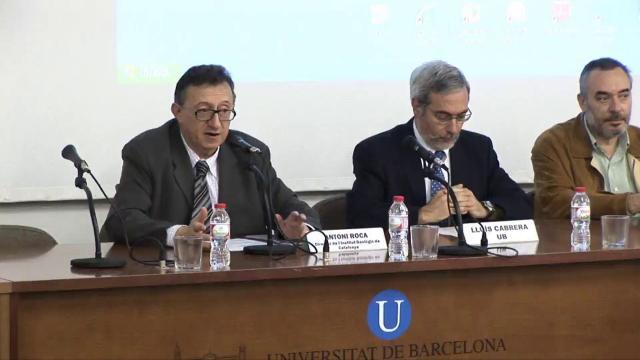 Presentació de la tercera conferència: 'Context econòmic i legal. Aspectes ambientals'