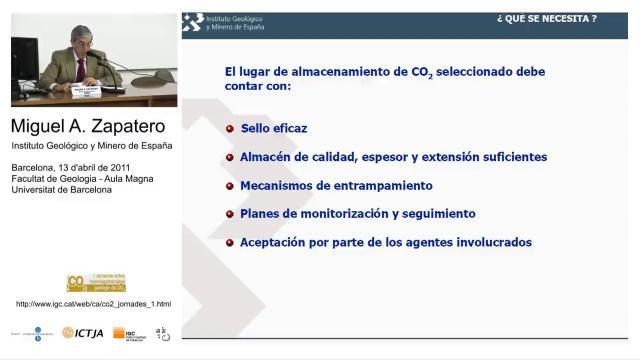 Marco legal del almacenamiento geológico de CO2: europeo, estatal y autonómico