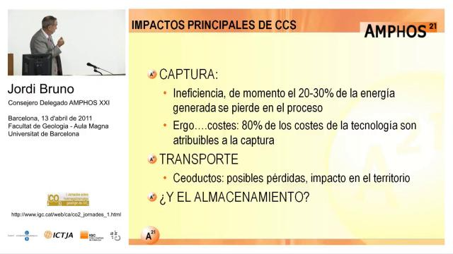 Incidencia ambiental del almacenamiento geológico del CO2