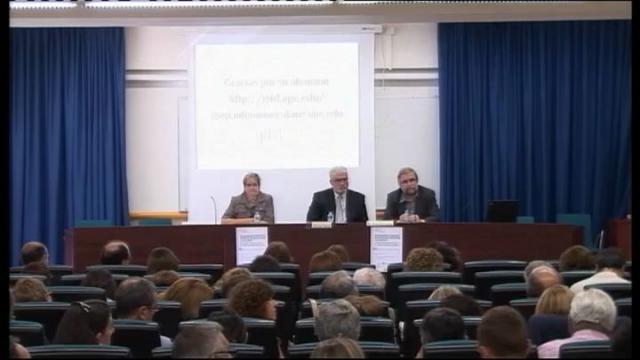 Simposi 'Competències docents i formació del professorat universitari. Un treball conjunt en el si de la ...<br/>universitat pública catalana'
