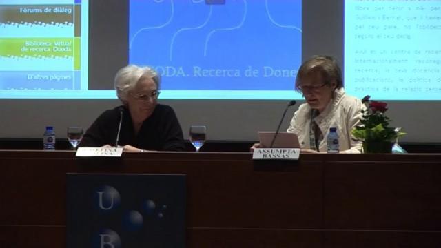 VII Diàleg magistral amb Josefina Molina: 'La libertad de espíritu en el cine'