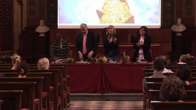 Acte de cloenda del curs d'Estudis Hispànics 2011-2012