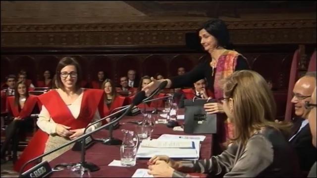 Acte de graduació dels llicenciats en Dret del curs 2011-2012