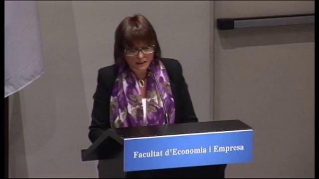 Acte de graduació de la Facultat d'Economia i Empresa. Promoció 2011. Jornada dia 12-11-2012