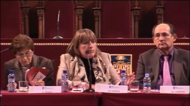 Jornada 'Any Europeu de l'Envelliment Actiu i Solidaritat Intergeneracional'. Segona taula rodona