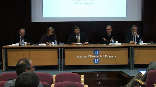 Debat amb candidats a rector/a organitzat pel Consell d'Alumnat