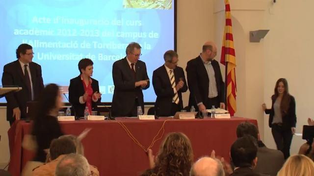 El director de la Fundació Alícia inaugura el curs acadèmic del Campus de l'Alimentació de Torribera