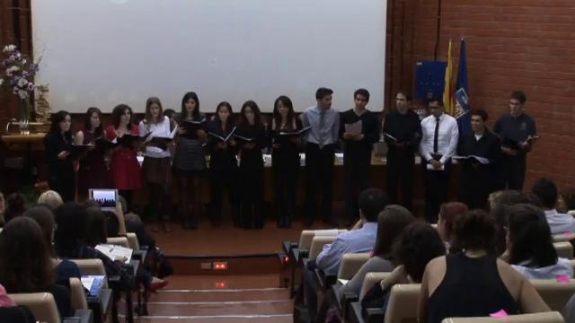 Acte de graduació de la Facultat de Biologia 2012. Segona part