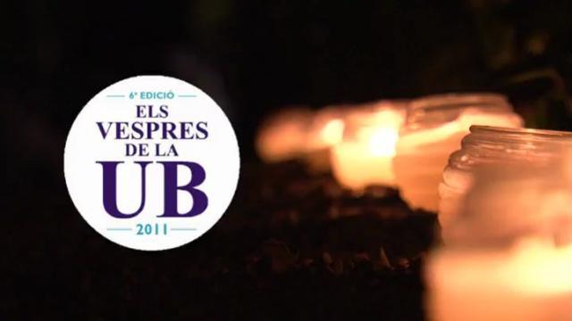 Els vespres de la UB 2011