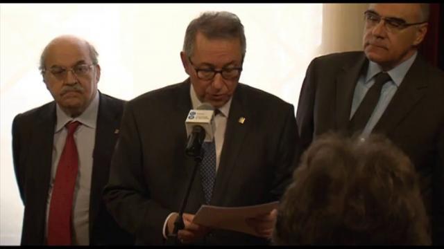 Investidura del rector Dídac Ramírez