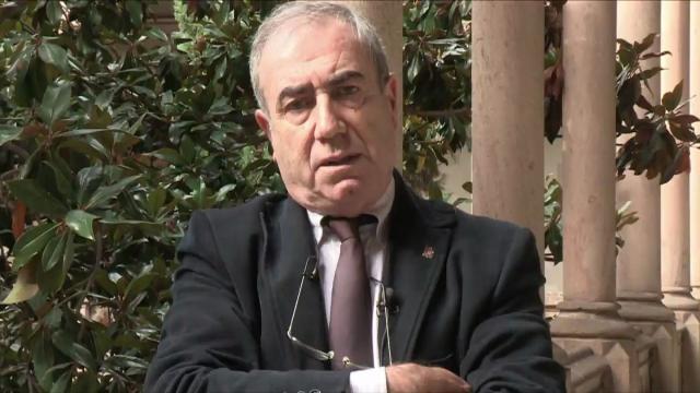 Eleccions al Rectorat 2012. Manel Viladevall