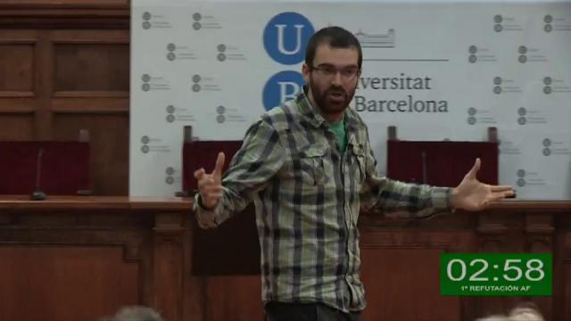VII Lliga Universitària de Debat a la UB
