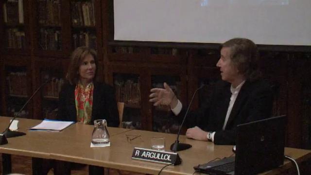 Diàleg entre Dr. Rafael Argullol i la Dra. Lourdes Cirlot sobre el videoart 'The Return' de Bill Viola