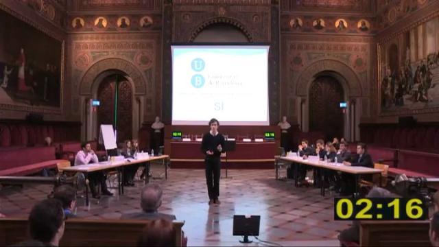 IX Lliga de Debat de la Xarxa Vives a la Universitat de Barcelona. La força de la paraula