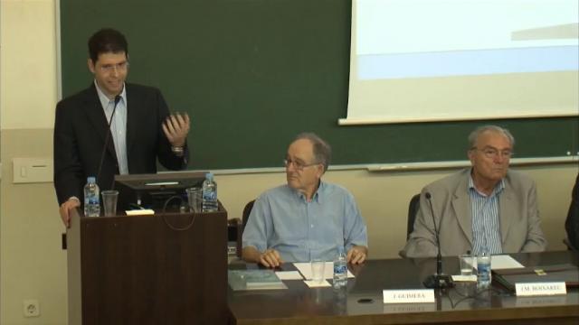 Acte d'homenatge al professor Antonio Creus Solé