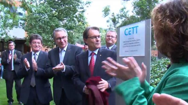 Inauguració noves instal·lacions CETT-UB