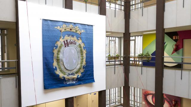 Acte d'inauguració de l'instal·lació 'Heloïse perfundet omnia luce'