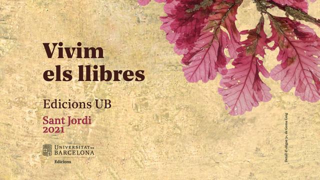 Edicions UB us desitja un bon Sant Jordi 2021