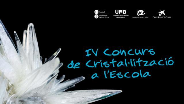 IV Concurs de Cristal·lització a l'Escola