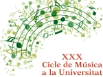 30th Session of Music at the University: Charity concert with Obra Social Sant Joan de Déu