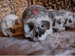 The study is based on the analysis of 390 decorated skulls  from the ossuary in Hallstatt (Austria).