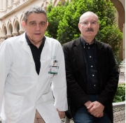 Dr. Josep Maria Montserrat, from the Pulmonology Service at the Hospital Clínic of Barcelona, and Prof. Ramon Farré from the University of Barcelona, both members of the IDIBAPS.
