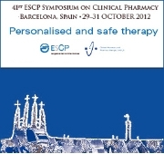 The 41st Symposium of the European Society of Clinical Pharmacy will happen from 29th to 31st October in Barcelona.
