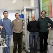 UB researchers who carried out the study.