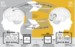 Previous studies had already demonstrated the communication between a human brain and a mouse, but technologies had not succeeded in communicating two human brains yet.