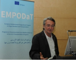 The programme EMPODaT, coordinated by Martí Manyalich, lecturer at the Faculty of Medicine of the University of Barcelona (UB), will be developed with EU funds until 2015.