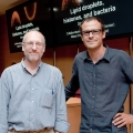 Steven P Gross, professor at the University of California, and Albert Pol, professor in the Department of Cell Biology, Immunology and Neuroscience. - Dr Albert Pol awarded with a Human Frontier Science Program research grant