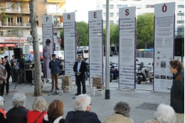 Xavier López, director of the UB Solidarity Foundation, participated in the tribute.