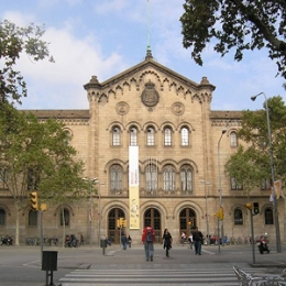 The Historic Building of the University of Barcelona.