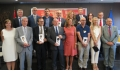 Representatives of award-winning institutions.- Award-winning UB centres receive the distinctions María de Maeztu and Severo Ochoa