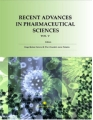 Book cover. - Available the new edition of the e-book 'Recent advances in pharmaceutical sciences V'