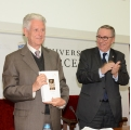 A moment during the event.- Tribute to Professor Horacio Capel