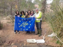 The European LIFE TRivers project is being led by the UB.