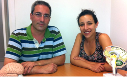 Professor Bru Cormand and the collaborator Cèlia Sintas, from the Department of Genetics, Microbiology and Statistics and the Institute of Biomedicine of the University of Barcelona (IBUB).