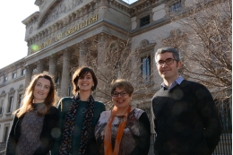 From left to right: Cristina Solé-Padullés, Bárbara Segura, Carme Junqué and David Bartrés Faz.
