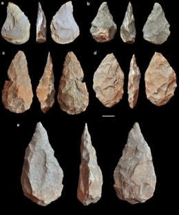 The Aroeira 3 fossil belongs to the Acheulean culture, originated in Africa more than a million years ago.