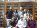 From left to right, the experts of the University of Barcelona Raul López-Arnnau, Patricia Villegas, Mario Buenrostro and Leticia Duart (above) with Elena Escubedo, Jordi Camarasa and  David Pubill (below).- Consumption of 'Cannibal drug' during adolescence  has prejudicial effects on adulthood