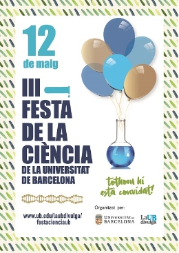 3rd Science Festival of the University of Barcelona.