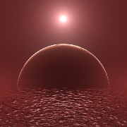In the paper the author, Fergus Simpson of the ICCUB, has constructed a statistical model  to predict the division between land and water on habitable exoplanets.. © Antartis / Depositphotos.com