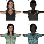 The study was conducted with 32 white women that were randomly assigned to a white or black virtual body.