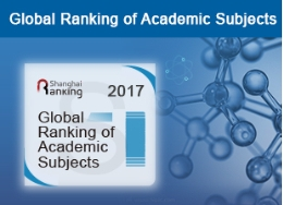 Shanghai Ranking's Global Ranking of Academic Subjects 2017.