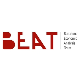 Logo del Barcelona Economics Analysis Team (BEAT).