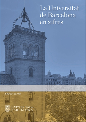 At the moment, 1,250 copies of  <i>The UB in figures</i> are published in Catalan, 1,400 in Spanish and 1,600 in English.