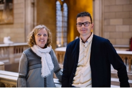 Inés Domingo and Pietro Tierno have been honoured with two Consolidator Grants from the European Research Council (ERC).